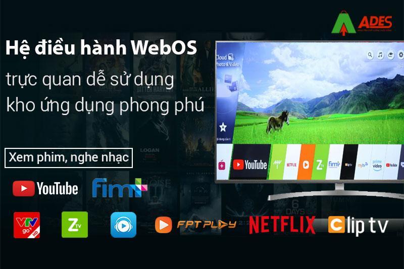 He dieu hanh thong minh Web OS